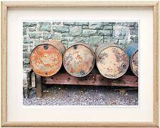 GRANDE ANCIENNE HUILE Drums photographique Epson Imprimer chez Ikea, A3 clipframe, n'Imprimer que