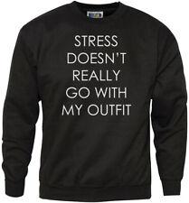 Realmente no estrés ir con mi traje de la Juventud y Sudadera para hombre-Juventud +