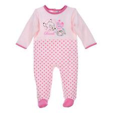 DISNEY pyjama grenouillère bébé BAMBI PANPAN rose 6 12 18 ou 23 mois NEUF