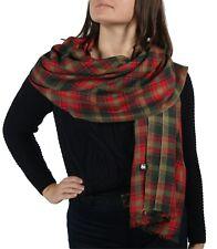 Tartan Pashmina Scarf Wrap Shawl + Free Hanger