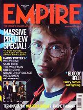 Empire Magazine #230 Harry Potter Terminator 4 Wolverine Star Trek