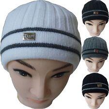 Uomo Berretto Lavorato A Maglia cappello invernale TA1164