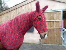 Royal Stewart FLEECE HORSE HOOD, Polar fleece hood all sizes
