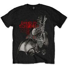 Avenged Sevenfold Ascension Skeleton Rock ufficiale Uomo maglietta unisex