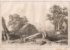 1835 Nettuno (Lazio) bulino