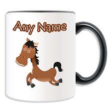 Regalo Personalizzato Silly Cavallo TAZZA Money Box COPPA Animale Insetto DESIGN TEMA Pony