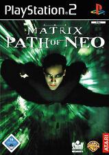 The Matrix: Path of Neo-Sony PlayStation 2 ps2 sólo usado CD