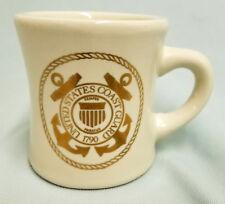 USCG UNITED STATES COAST GUARD GOLD CREST LOGO CUSTOM MUG CUP STEIN