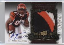 2008 Upper Deck Exquisite Collection #147 Andre Caldwell Cincinnati Bengals Card
