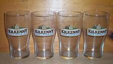 KILKENNY IRISH CREAM ALE 4 PUB STYLE 20oz BEER GLASSES NEW