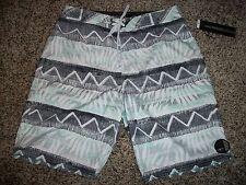O'NEILL New NWT Mens Board Swim Shorts Gray White Black Blue 32 33 34 36