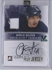 2008-09 In the Game Superlative Franchise AP-NK Nikolai Kulemin Auto Hockey Card