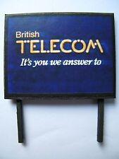 British Telecom - Model Railway Billboard - N Gauge, OO Gauge & O Gauge