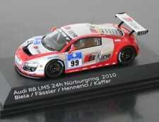 Audi r8 LMS 2010 #99 24h nürbu biela Fässler Hennerici Kaffir Spark resin 1:43