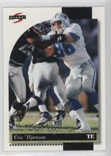 1996 Score #130 Eric Bjornson Dallas Cowboys RC Rookie Football Card