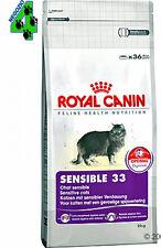 ROYAL CANIN SENSIBLE 33 GATTO 15 KG CROCCHETTE per gatti cibo secco