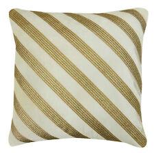Home Decor Throw Lace Work Housse de coussin en maille blanche - Choose Size