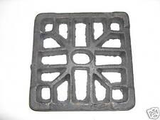 "6"" x 6"" cast iron external gully trap grid drain cover"