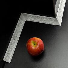 3m ABSCHLUSSLEISTE 23x23mm Granit hell Winkelleisten Arbeitsplatte Küche