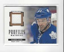 2015-16 UD Portfolio Profiles Nazem Kadri JERSEY Maple Leafs