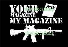 AR 15 2a Gun Decal colt firearms Truck, Car vinyl decal USA sticker rifle