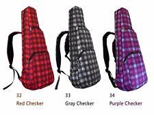 """30"""" Baritone Pattern Print Ukulele Gig Bag Rucksack Daypack Backpack 2 Ways"""