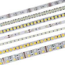 5M LED Flexible Strip Light 3528 2835 3014 5050 5630 5054 RGB Warm White DC12V