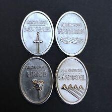 Archangel Small Metal Tokens- Michael, Gabriel, Uriel & Raphael