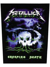 Metallica Backpatch Creeping Death 29 x 36 cm