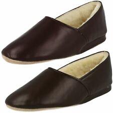 Mens Morlands Leather Slipper 'Lauder'