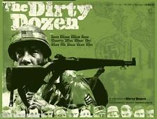 The Dirty Dozen 1967 War Film Canvas Wall Art Movie Poster Print Lee Marvin