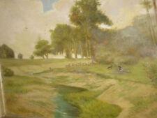 SCHWEITZER Reinhold, *1876 Schafherde an der Amper