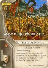 Warhammer Invasion - 2x Skeletal Horde  #044