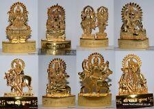 God Goddess mini statue idol Ganeshji Narayan shivji Laxmi Durga Krishna Gopal