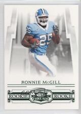 2007 Donruss Threads Century Proof Green #217 Ronnie McGill Rookie Football Card