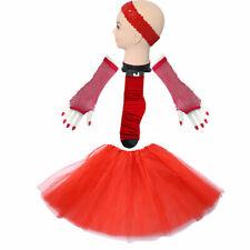 Red TUTU 4 Set Kids Girls Ladies Tutu Skirt Ballet Dancewear LEG WARMERS October