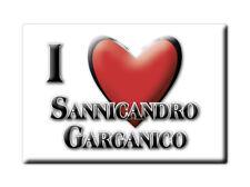 CALAMITA PUGLIA FRIDGE MAGNET MAGNETE SOUVENIR LOVE SANNICANDRO GARGANICO (FG)