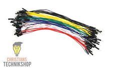 10 einzelne Jumper Wire | 20 cm Kabel | male auf male | viele Farben zur Auswahl