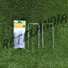 Chiodi a U h cm 22 o h cm 14 per fissaggio prato sintetico tappeti moquette