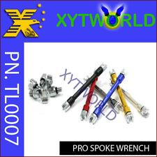 TL0007 SPOKE WRENCH SPANNER TOOL 8in1 Motorcycle Bike KX RM WR YZ YZF CR CRF KTM