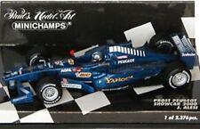 MINICHAMPS PROST F1 diecast model race cars Alesi Heidfeld Panis Trulli 1:43rd
