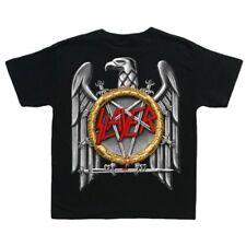 Slayer Baby T-shirt - Silver Eagle - Childrens Black T-shirt
