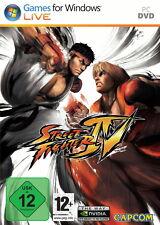 Street Fighter IV (PC, 2009, DVD-box) como nuevo top USK 12