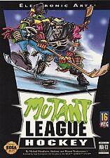 Mutant League Hockey (Sega Genesis, 1994) in box