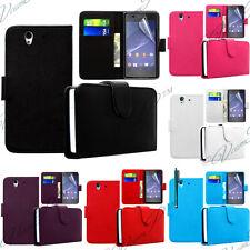 Accessoires Housse Etui Coque Portefeuille Cuir Pour Sony Xperia M2/ M2 dual Sim