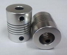 10x6.35mm Motorwelle KUPPLER für 3D Drucker, flexibel 10mm to 6.35mm Z-Achsen