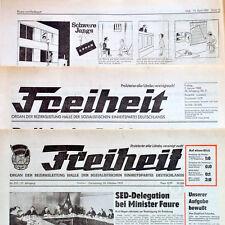 DDR Freiheit Juli 1977 Geburtstag Hochzeit 40. 41. 42. 43. 44. 45. 46. SED Halle