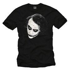 Joker Herren T-Shirt WHY SO SERIOUS Batman Superman Robin Big Bang Nerd Geek Bat