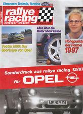Opel Vectra i500 Sonderdruck Rallye Racing 12/97 Test 1997 Auto PKWs Deutschland