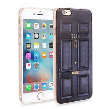 Slim Soft Rubber Back Case Skin Cover for Apple iPhone Sherlock Holmes 221B Door
